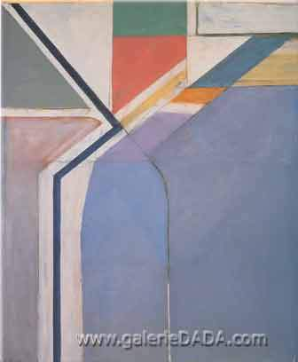 Richard Diebenkorn, Ocean Park No.24 Fine Art Reproduction Oil Painting