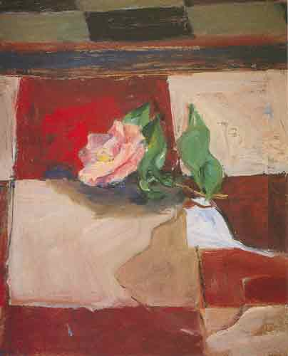 Richard Diebenkorn, Studio Floor Camelia Fine Art Reproduction Oil Painting