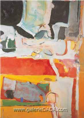 Richard Diebenkorn, Urbana No.4 Fine Art Reproduction Oil Painting