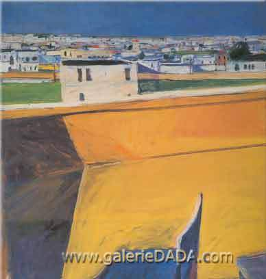 Richard Diebenkorn, Yellow Porch Fine Art Reproduction Oil Painting