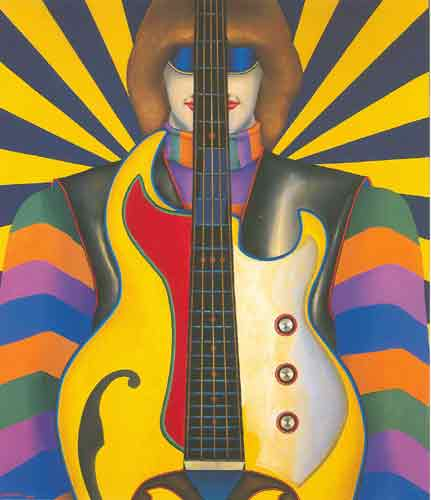 Richard Lindner, Rock-Rock Fine Art Reproduction Oil Painting