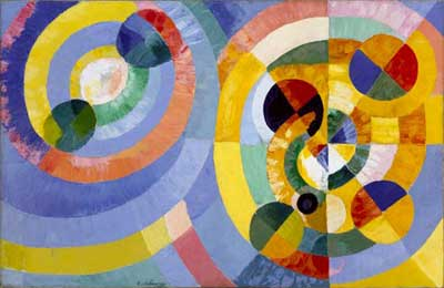 Robert & Sonia Delaunay, Circular Forms Fine Art Reproduction Oil Painting