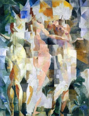 Robert & Sonia Delaunay, The Three Graces Fine Art Reproduction Oil Painting