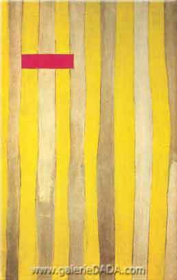 Robert Motherwell, The Little Spanish Prison Fine Art Reproduction Oil Painting