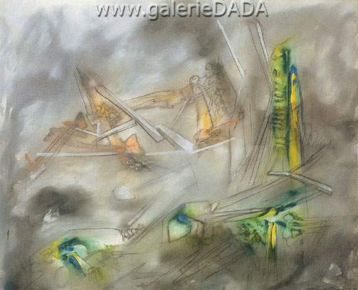 Roberto Matta, Lebranleur Fine Art Reproduction Oil Painting