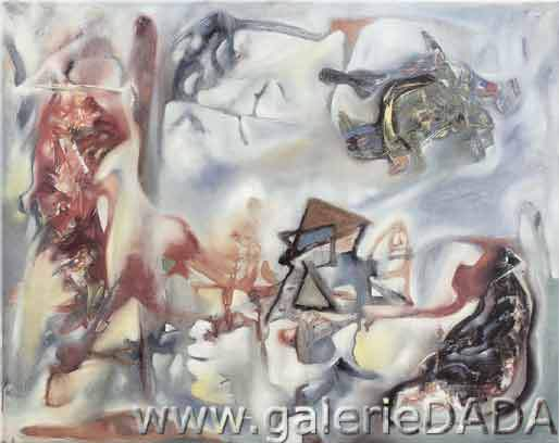 Roberto Matta, Morthology of Desire Fine Art Reproduction Oil Painting