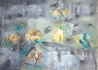 Roberto Matta, Pose Etat Fine Art Reproduction Oil Painting