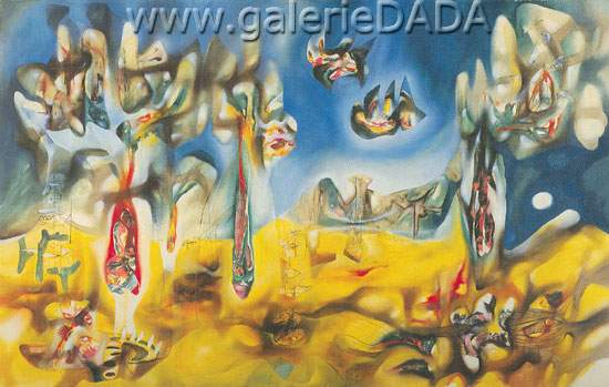 Roberto Matta, Rocks Fine Art Reproduction Oil Painting