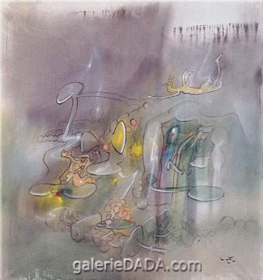 Roberto Matta, Volare Volta per Sempre Fine Art Reproduction Oil Painting