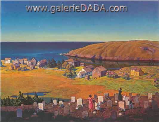 Rockwell Kent, Memorial day Fine Art Reproduction Oil Painting