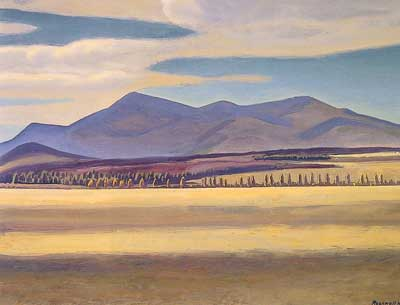 Rockwell Kent, Mount Whiteface Asgaard Fine Art Reproduction Oil Painting