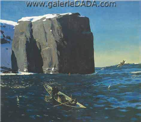 Rockwell Kent, Toilers of the Sea Fine Art Reproduction Oil Painting