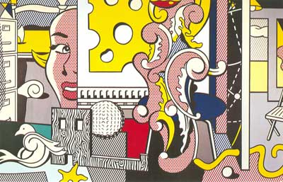 Roy Lichtenstein, Go for Baroque Fine Art Reproduction Oil Painting