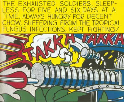 Roy Lichtenstein, Takka Takka Fine Art Reproduction Oil Painting