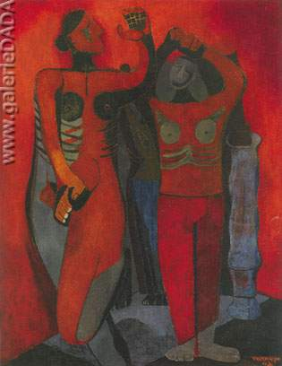 Rufino Tamayo, Ballerinas Fine Art Reproduction Oil Painting