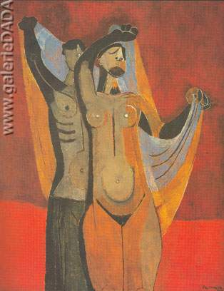 Rufino Tamayo, Dancers Fine Art Reproduction Oil Painting