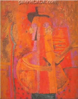 Rufino Tamayo, Man with Pipe Fine Art Reproduction Oil Painting