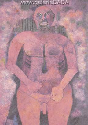 Rufino Tamayo, Picasso Naked Fine Art Reproduction Oil Painting