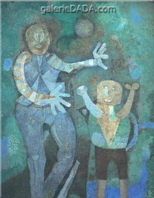 Rufino Tamayo, The Family Fine Art Reproduction Oil Painting