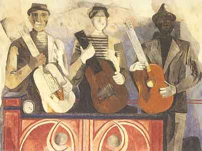Rufino Tamayo, The Musicians Fine Art Reproduction Oil Painting