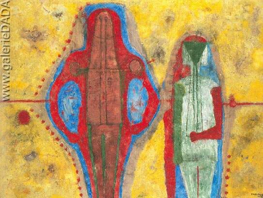 Rufino Tamayo, Two People Fine Art Reproduction Oil Painting