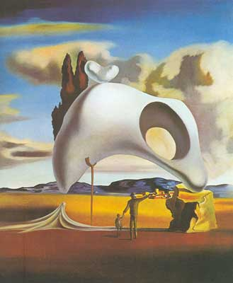 Salvador Dali, Atavistic Vestiges of Rain Fine Art Reproduction Oil Painting