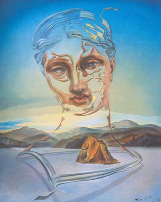 Salvador Dali, Birth of a Diety Fine Art Reproduction Oil Painting