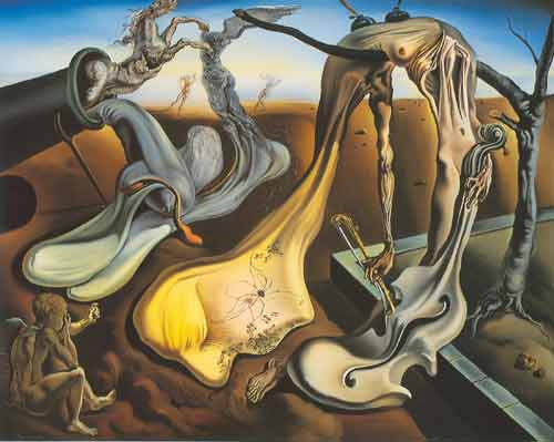 Salvador Dali, Daddy Longlegs of the Evening - Hope! Fine Art Reproduction Oil Painting