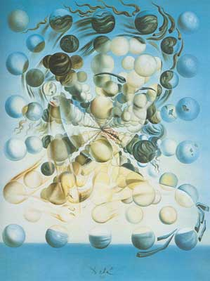 Salvador Dali, Galatea of the Spheres Fine Art Reproduction Oil Painting