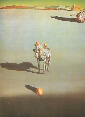 Salvador Dali, Geological Destiny Fine Art Reproduction Oil Painting