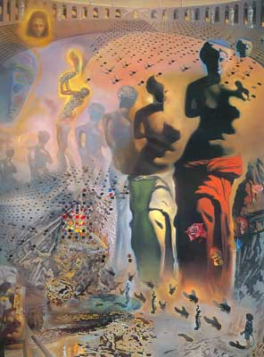 Salvador Dali, Hallucinogenic Toreador Fine Art Reproduction Oil Painting