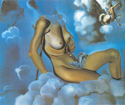 Salvador Dali, Honey is Sweeter than Blood Fine Art Reproduction Oil Painting