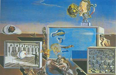 Salvador Dali, Illuminated Pleasures Fine Art Reproduction Oil Painting