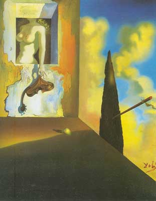 Salvador Dali, Masochistic Instrument Fine Art Reproduction Oil Painting