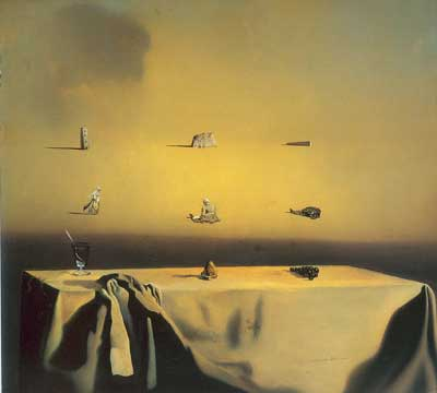 Salvador Dali, Morphological Echo Fine Art Reproduction Oil Painting