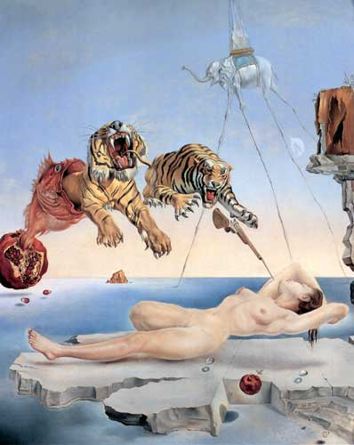 Salvador Dali, One Second before Awakening from a Dream Fine Art Reproduction Oil Painting
