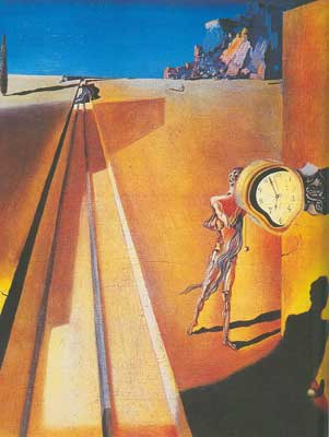 Salvador Dali, Premature Ossification of a Railway Station Fine Art Reproduction Oil Painting