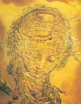 Salvador Dali, Raphaelsque Head Exploded Fine Art Reproduction Oil Painting