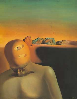 Salvador Dali, The Average Bureaucrat Fine Art Reproduction Oil Painting