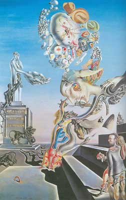 Salvador Dali, The Lugubrious Game Fine Art Reproduction Oil Painting