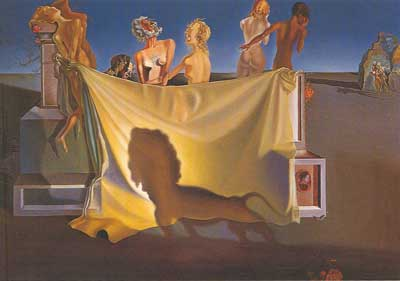 Salvador Dali, The Old Age of William Tell Fine Art Reproduction Oil Painting
