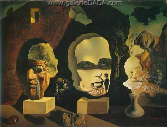 Salvador Dali, The Three Ages Fine Art Reproduction Oil Painting