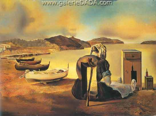 Salvador Dali, The Weaning of Furniture Nutrition Fine Art Reproduction Oil Painting