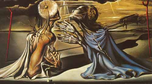 Salvador Dali, Tristan and Isolde Fine Art Reproduction Oil Painting