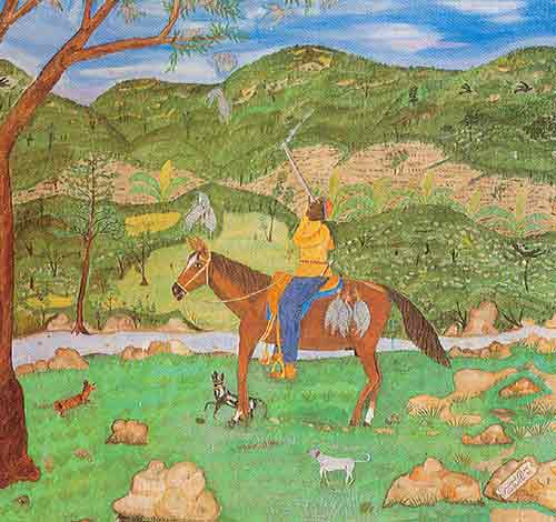 Seneque Obin, The Hunter Fine Art Reproduction Oil Painting