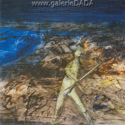 Sidney Nolan, Gallipoli Soldier Fine Art Reproduction Oil Painting