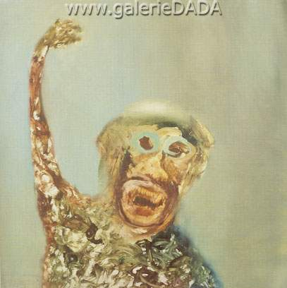 Sidney Nolan, Monkey Fine Art Reproduction Oil Painting