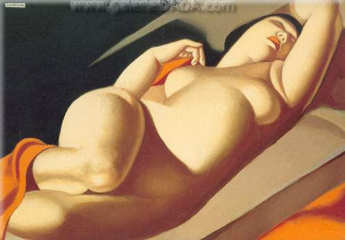 Tamara de Lempicka, Beautiful Rafaela Fine Art Reproduction Oil Painting