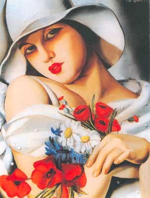 Tamara de Lempicka, High Summer Fine Art Reproduction Oil Painting