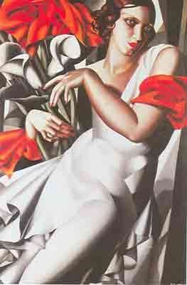 Tamara de Lempicka, Portrait of Ira P Fine Art Reproduction Oil Painting